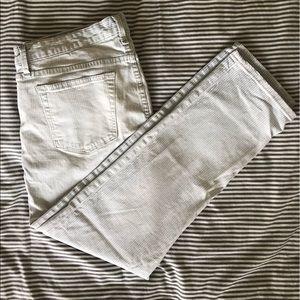 Gap Seersucker Jeans